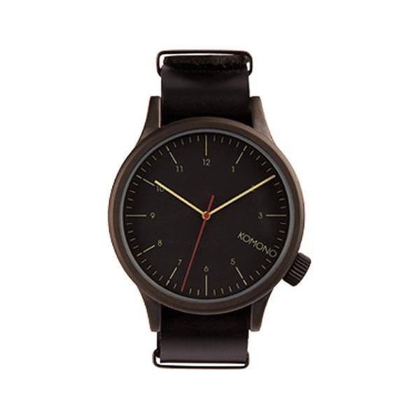 Komono Watch - The One - Black