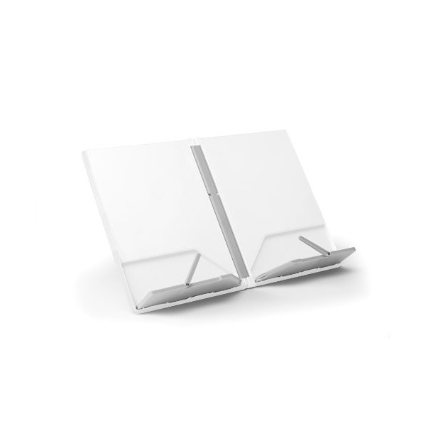 Joseph Joseph CookBook Compact Folding Bookstand, White and Gray