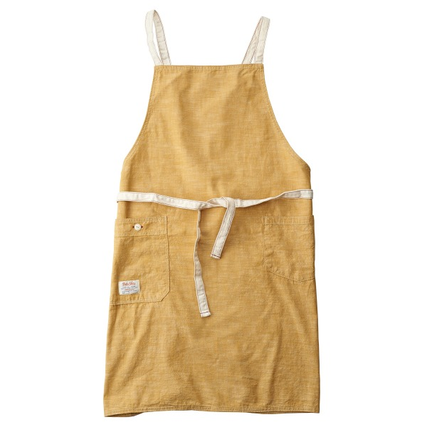 Chambray Bib Apron, Yellow