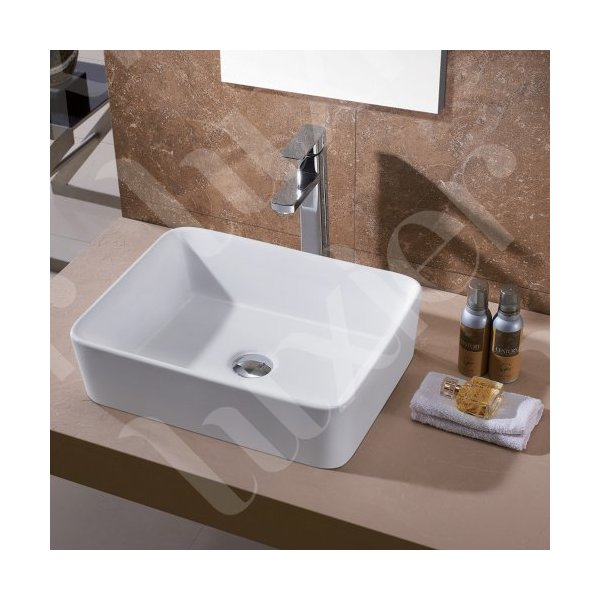 Luxier CS-013 Bathroom Porcelain Ceramic Vessel Vanity Sink Art Basin