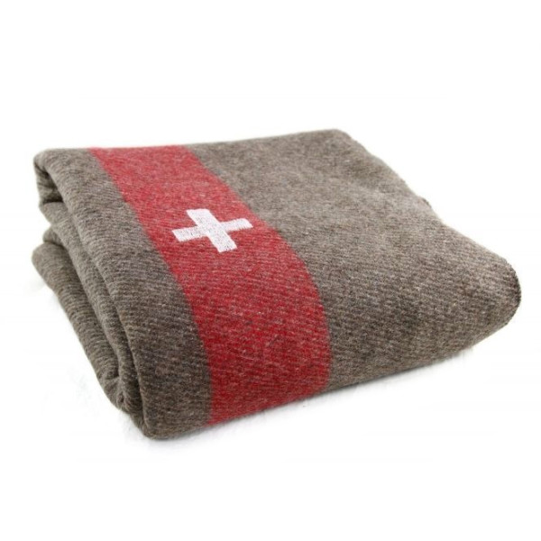 Swiss Army Blanket, Wool Blend