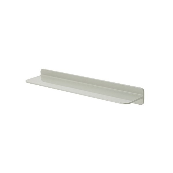 Sabi Shelf Wall-Mounted Floating Shelf, Gray