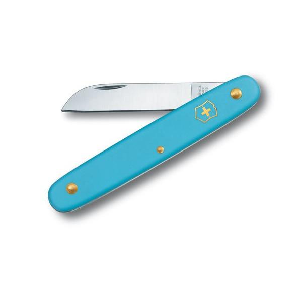 Victorinox Floral Utility Knife, Light Blue