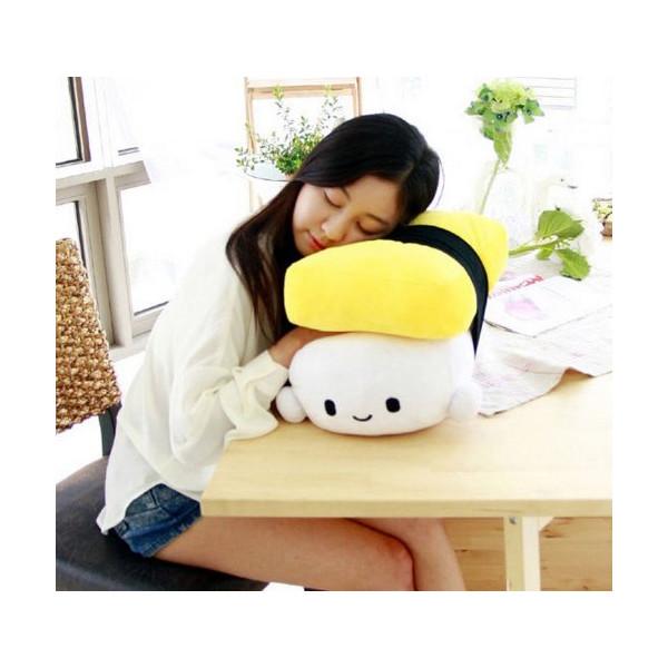 """Japanese Food Egg Sushi Cushion Pillow medium 11.8""""(30cm)"""