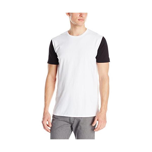 Zanerobe Men's Flintlock T-Shirt, White/Black, Large