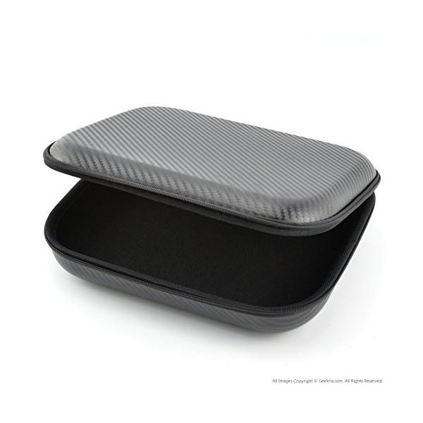 Geekria Headphones Case for ATH-M50, M50x, ANC29, ESW9, ESW10, ES88, WS77, Creative Aurvana Live 2, SONY MDR-XB920, MDR-XB900, NWZ-WH303, WH505, MDR10RBT, AKG, Onkyo ES-CTI300 (Black PU)