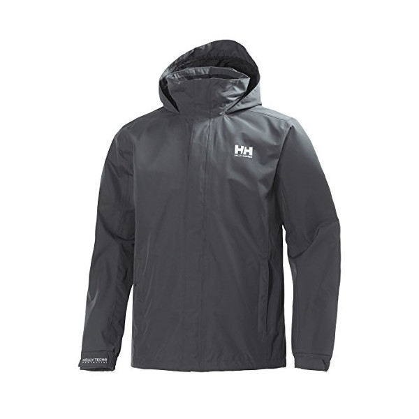 Helly Hansen Men's Dubliner Jacket, Charcoal, Medium