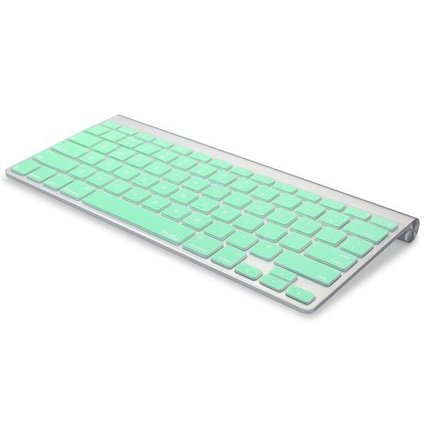 Kuzy Mint Green Keyboard Cover Silicone Skin