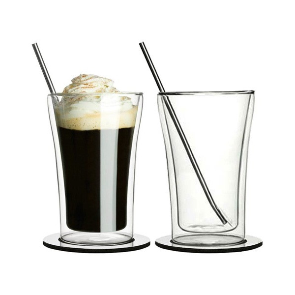 CAFE Double Wall Irish Coffee Set of 2 by Sagaform