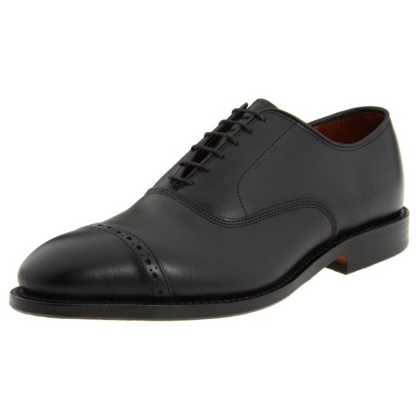 Allen Edmonds Men's Fifth Avenue Cap Toe,Black,11 EEE US