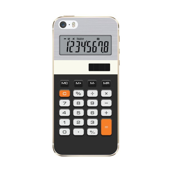 Cellet Calculator Skin for Apple iPhone 5/5S