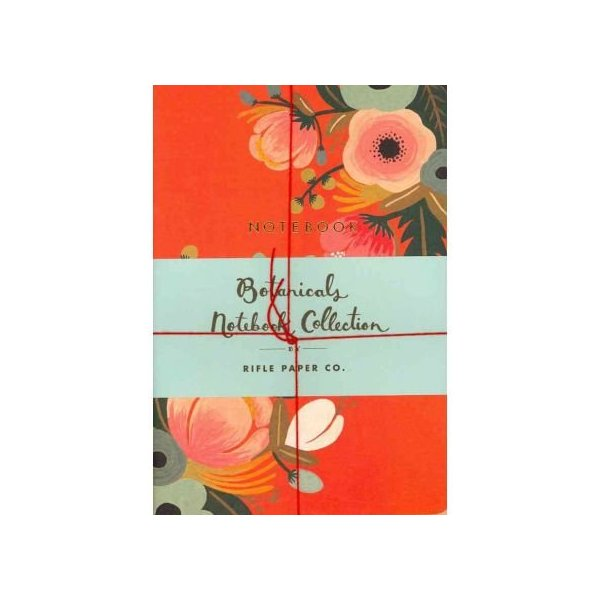 [ [ [ Botanicals Notebook Collection[ BOTANICALS NOTEBOOK COLLECTION ] By Rifle Paper Co ( Author )Aug-24-2011 Paperback