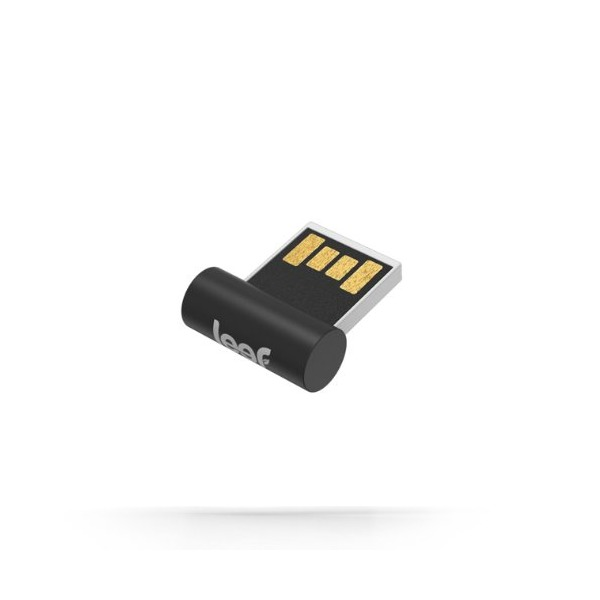 Leef Surge USB 2.0 64GB Low Profile High Speed USB Flash Drive with PrimeGrade Memory (Black)