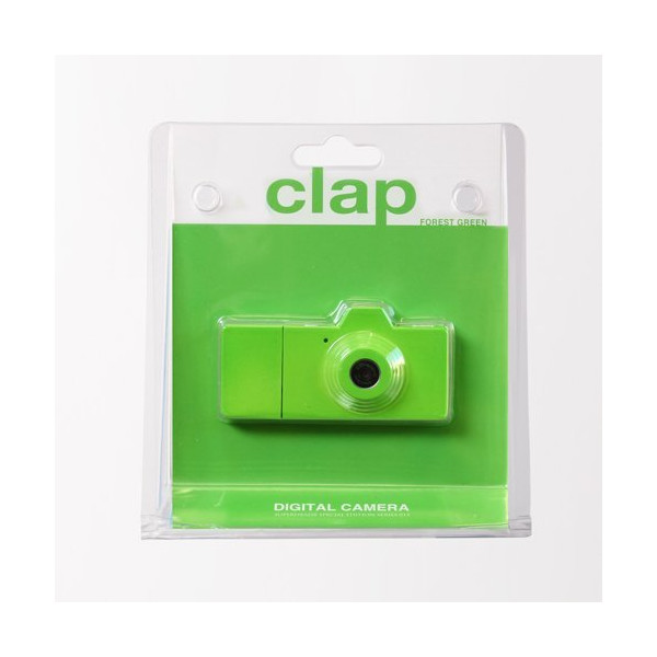 SuperHeadz: Clap Digital Camera - Forest Green