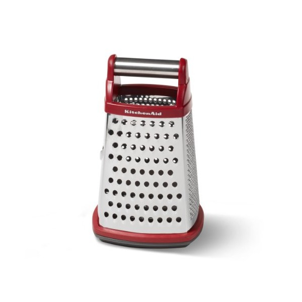 KitchenAid Gourmet Box Grater, Red