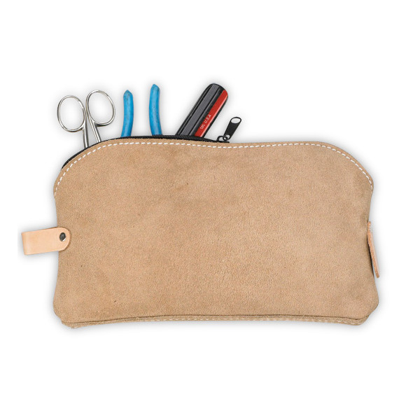 Custom Leathercraft All-Purpose Tool Bag, Suede