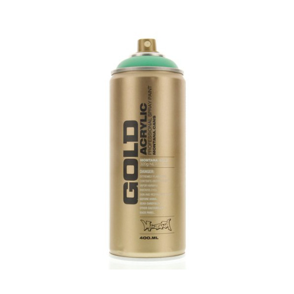 Montana GOLD Acrylic Spray Paint MALACHITE 1-Can