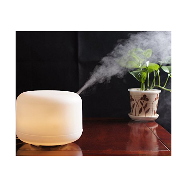 Signstek 500milliliter Aroma Diffuser LED Color Changing Ultrasonic Home Air Humidifier