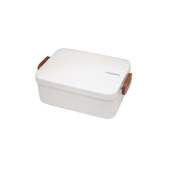 Takenaka 12-1204-05 Deep Bento Box, White