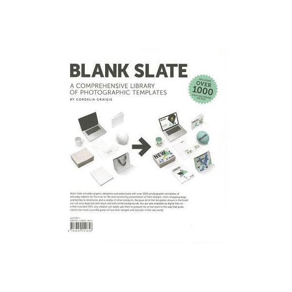 Blank Slate( A Comprehensive Library of Photographic Dummies [With DVD])[BLANK SLATE W/CD][Hardcover]