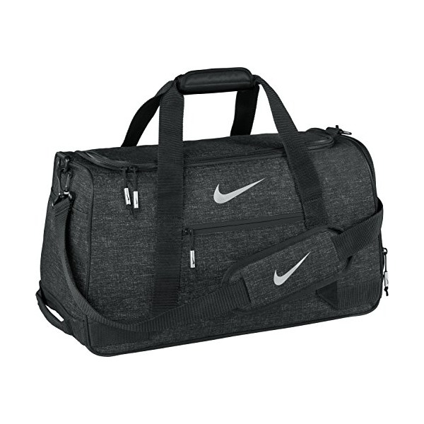 Nike Sport Duffel III Gym Bag, Black/Silver