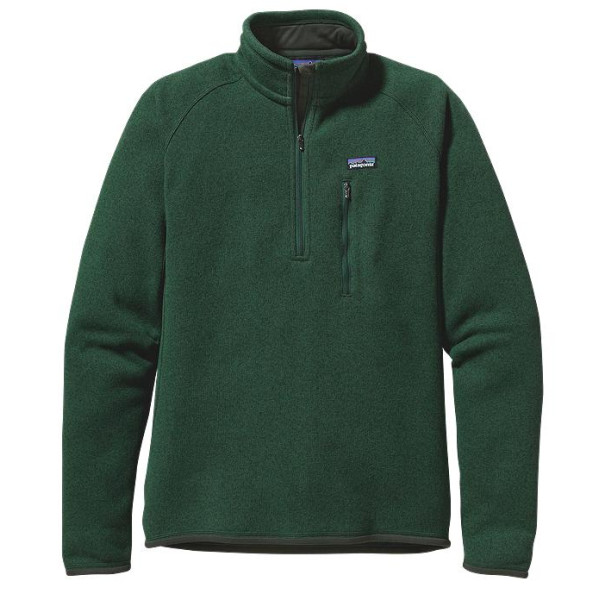 Patagonia Better Sweater 1/4 Zip Up, Green