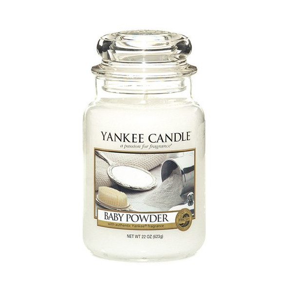 Yankee Candle- Large Baby Powder Jar Candle 1122150