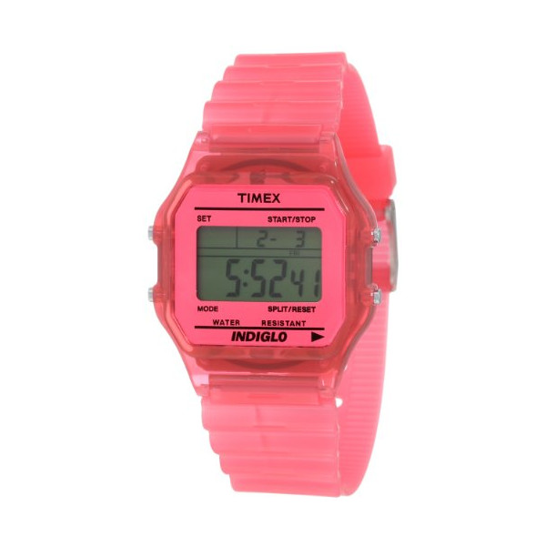 "Timex Unisex T2N805 ""Classic"" Watch with Pink Band"