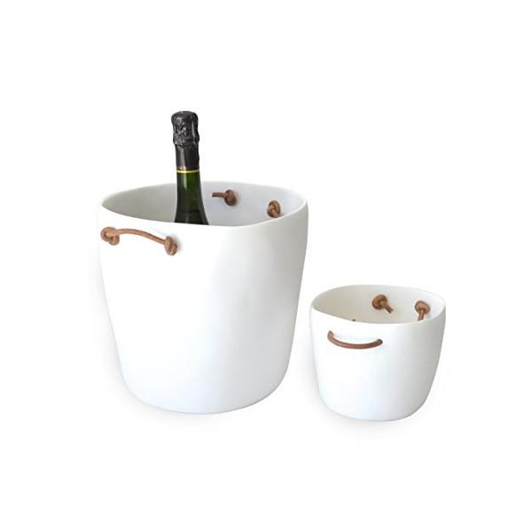 Tina Frey Champagne Bucket - White