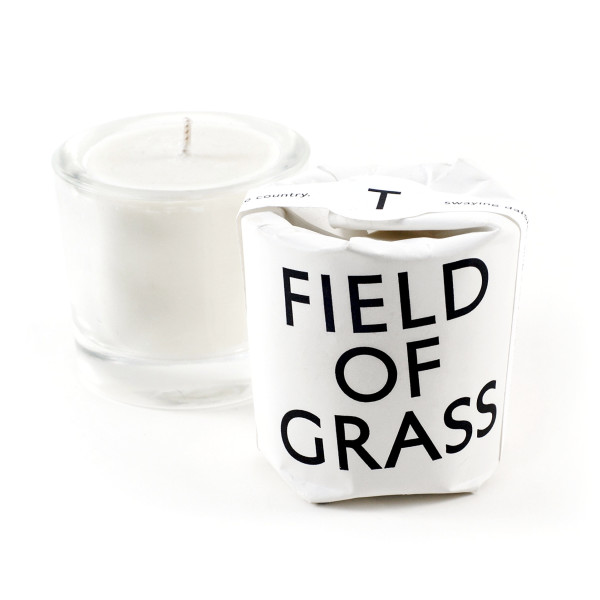 Field of Grass Scented Candle, Non-GMO Soy + Vegetable Wax Blend