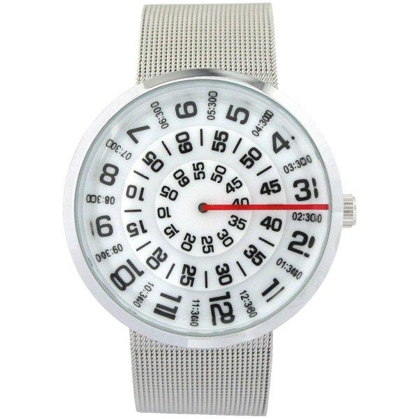 Youyoupifa New York Men's Business Stainless Steel Quartz Wrist Watch (White)