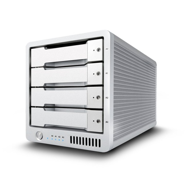 CalDigit T4 Thunderbolt 2 Professional RAID 0, 1, 5, JBOD External Hard Drives (T4R-04000-US-150)