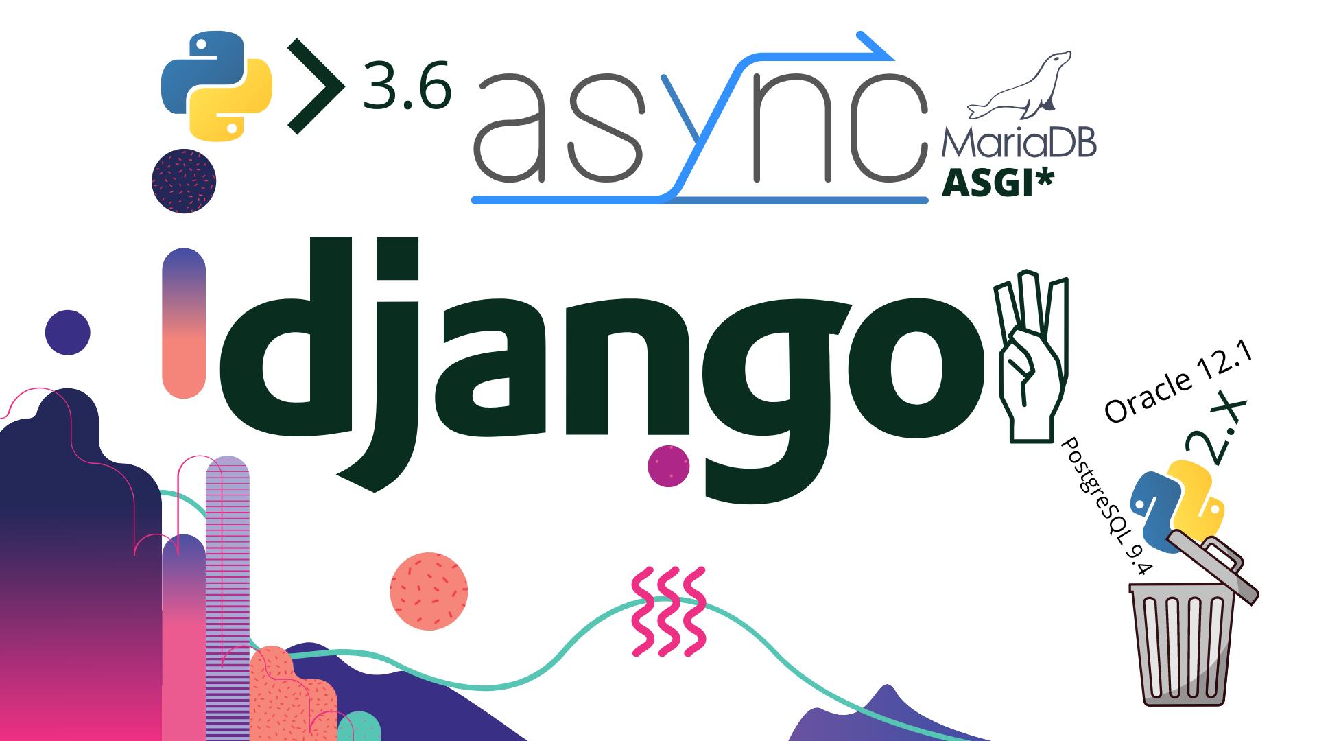 Whats new in django 3.0