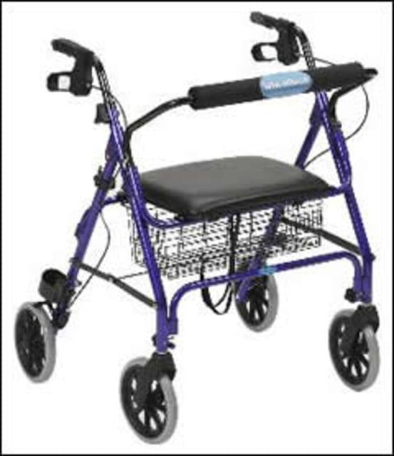 Drive Heavy Duty Rollator Blue (180kg)
