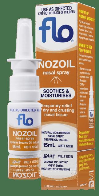 FLO Nozoil Spray (15mL)