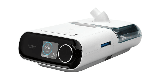 Philips Respironics DreamStation BiPAP AVAPS with Cellular and Heated Tube Humidifier