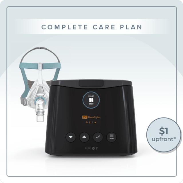 Complete Care Automatic Freedom Plan - Fisher & Paykel SleepStyle Auto