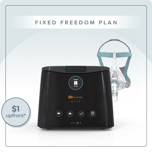 Fixed Pressure CPAP Freedom Plan - Fisher & Paykel SleepStyle CPAP