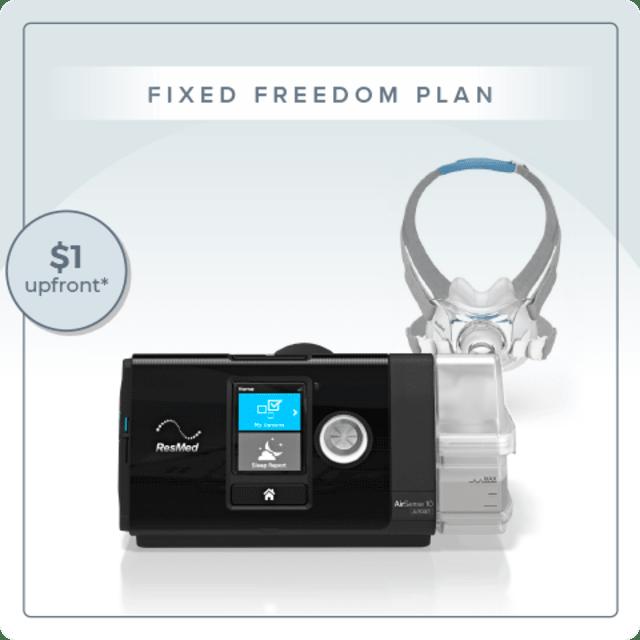 Fixed Pressure CPAP Freedom Plan - ResMed AirSense 10 Elite