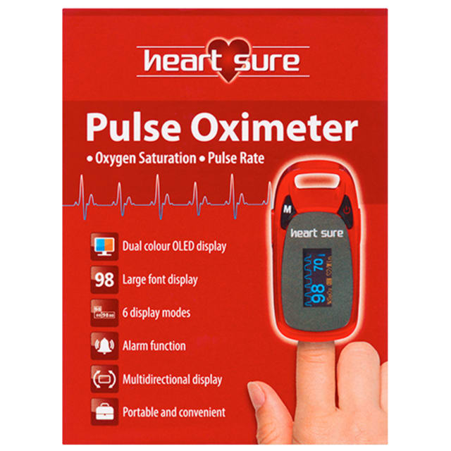 Omron Heart Sure Pulse Oximeter