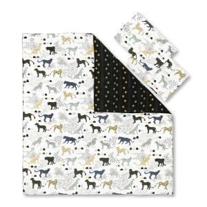 Dreamit - Comforter and Pillowcase Safari Wild Cats