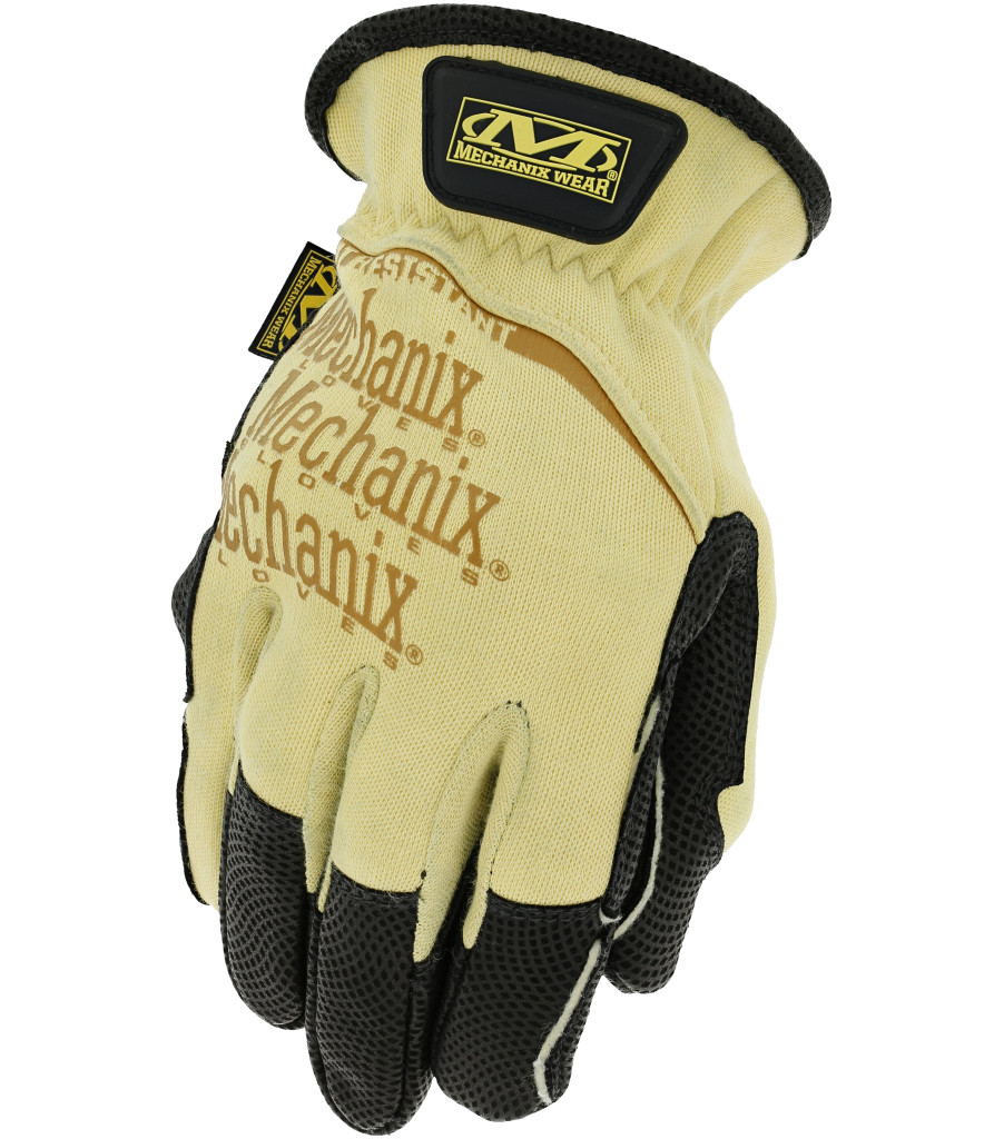 Leather Heat Resistant, Yellow, large image number 0