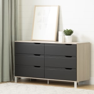 Kanagane - 6-Drawer Double Dresser