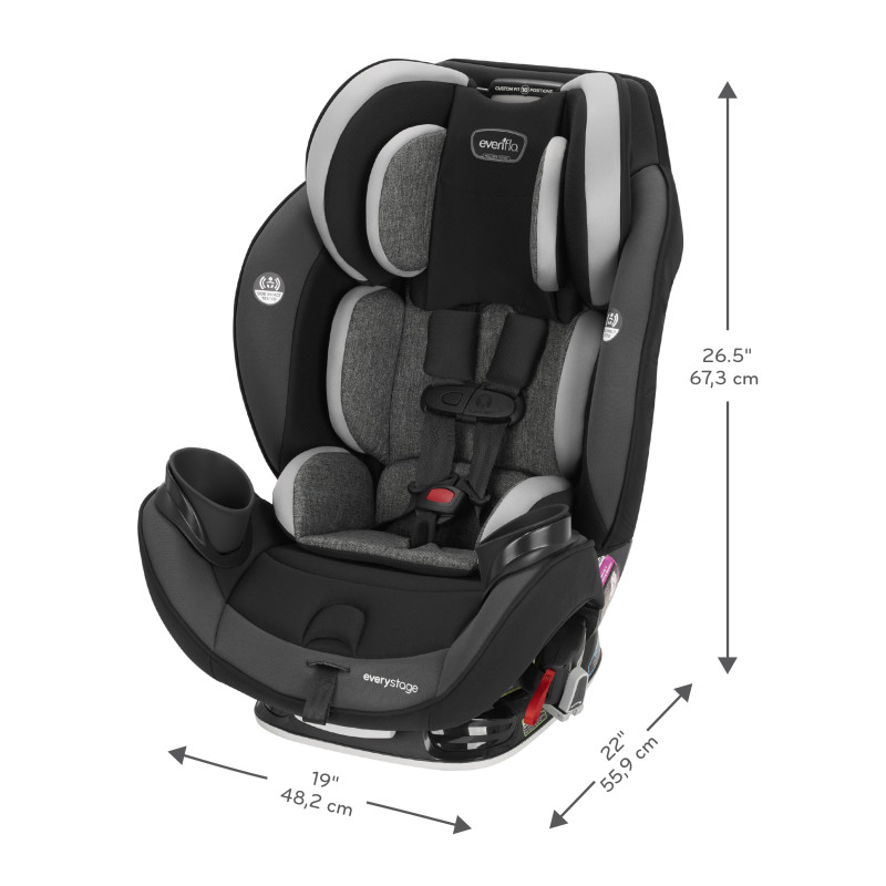 EveryStage™ DLX All-in-One Car Seat (Crestland) Lifestyle Photo
