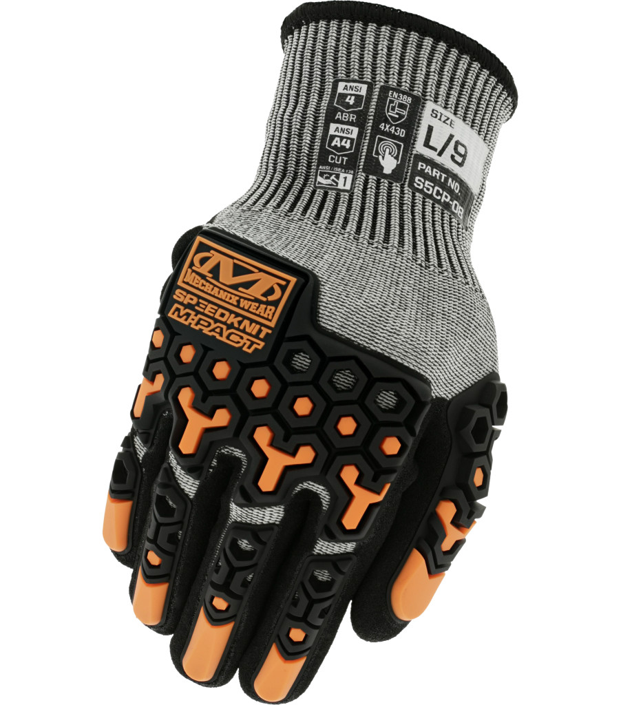 SpeedKnit™ M-Pact® S5CP08, Grey, large image number 0