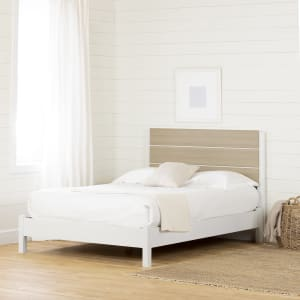 Munich - Platform Bed with Headboard