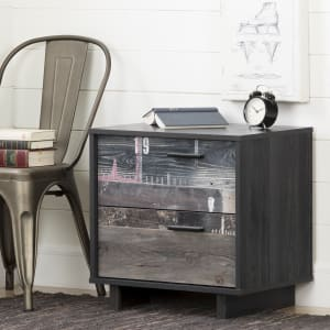 Fynn - Table de chevet 2 tiroirs