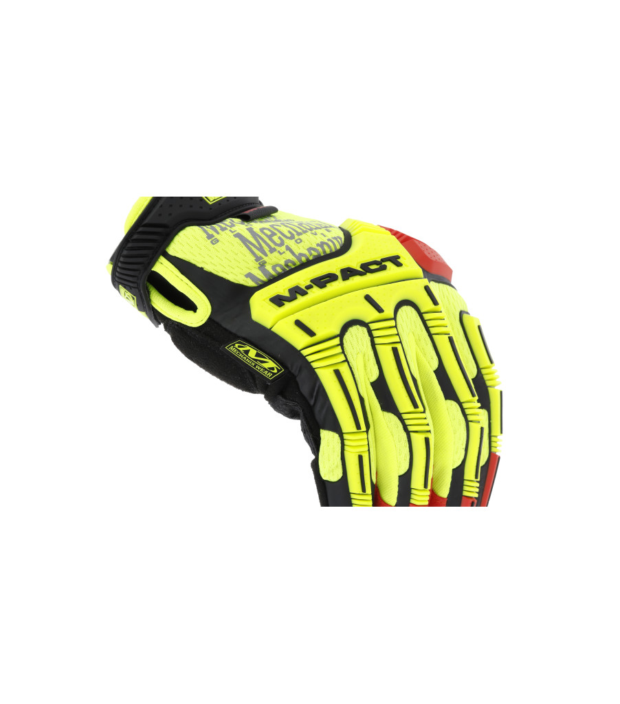 Hi-Viz M-Pact® D4-360, Fluorescent Yellow, large image number 2