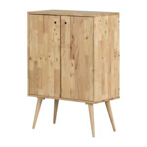 Kodali - Solid Wood Buffet with Wine Storage