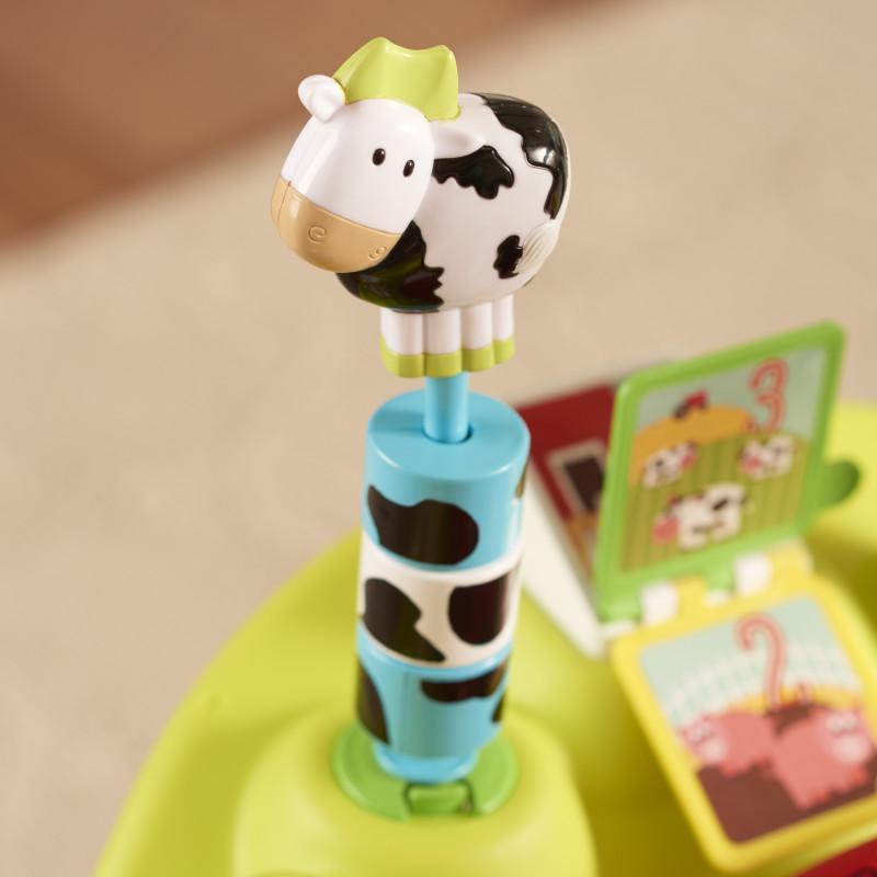 ExerSaucer® Bouncing Activity Saucer (Playful Pastures) Lifestyle Photo